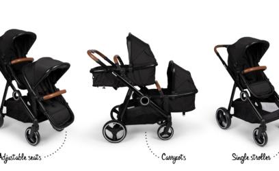 Poussette pour jumeaux Duo stroller 2 in 1 –> 439,00€