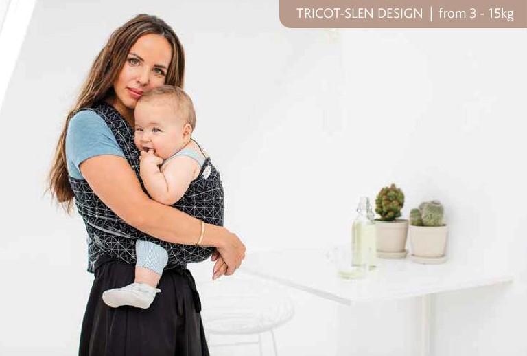 Echarpe de portage Tricot-Slen Design